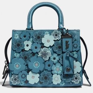 Coach Rogue 25 With Tea Rose Blue F58840